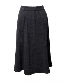 Crêperie dark grey skirt online