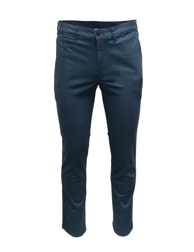 Japan Blue Jeans Chino pantaloni blu JB4100 GR pantaloni uomo online shopping