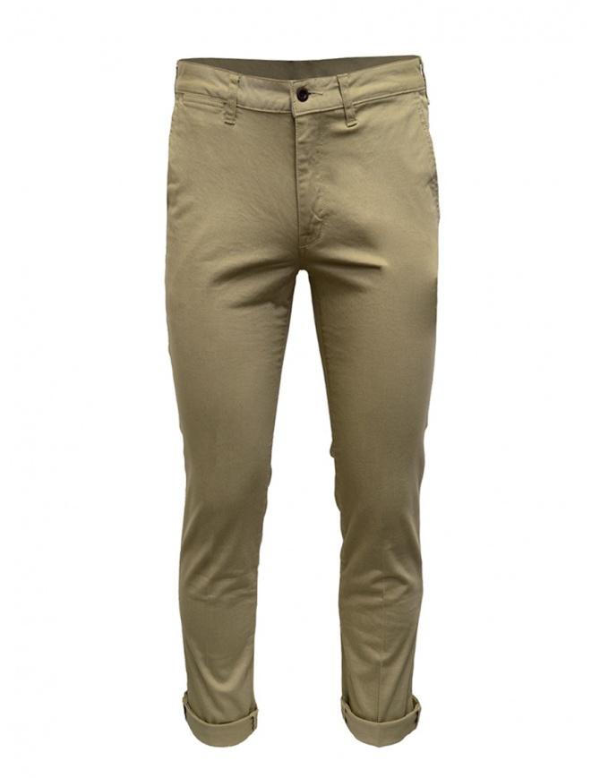 Japan Blue Jeans Chino pantaloni beige JB4100 BE pantaloni uomo online shopping