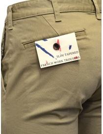 Japan Blue Jeans Chino pantaloni beige pantaloni uomo acquista online
