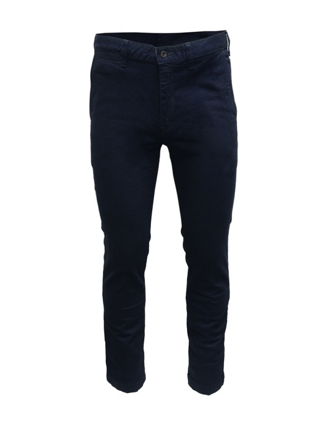 Pantalone chino Japan Blue Jeans blu indaco JB4100 ID pantaloni uomo online shopping