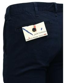 Pantalone chino Japan Blue Jeans blu indaco pantaloni uomo acquista online