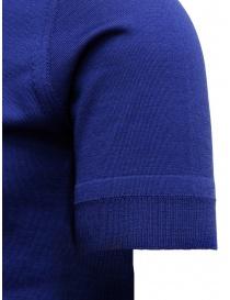 Goes Botanical teal blue polo shirt price