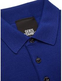 Goes Botanical teal blue polo shirt mens t shirts buy online