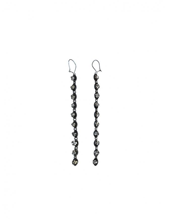 Jean-François Mimilla dangling earrings with rhinestones STRASS BO 102 jewels online shopping