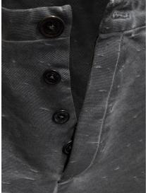 Label Under Construction pantaloni grigi Fly Yarn prezzo