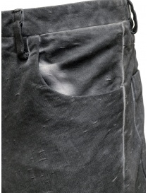 Label Under Construction pantaloni grigi Fly Yarn pantaloni uomo acquista online