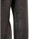 Label Under Construction maglia con bordi arricciati marrone grigia 25YMSW80 LS11 25/8 prezzo