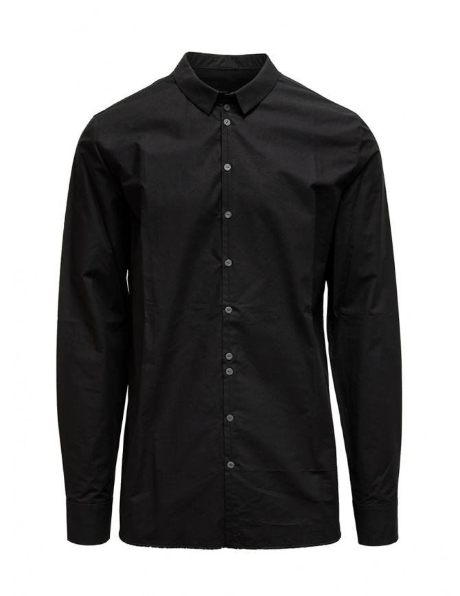 Label Under Construction camicia Invisible Buttonholes nera 30FMSH37 CO184 30/9 SHIRT camicie uomo online shopping