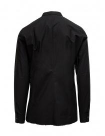 Label Under Construction black Invisible Buttonholes shirt price