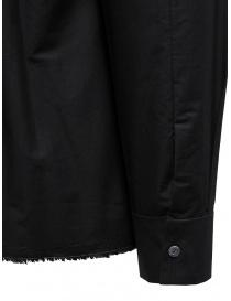 Label Under Construction black Invisible Buttonholes shirt mens shirts price