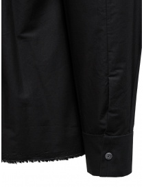 Label Under Construction camicia Invisible Buttonholes nera camicie uomo prezzo