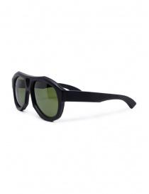 Paul Easterlin occhiali Dean neri lenti verdi