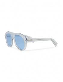 Paul Easterlin occhiali Dean trasparenti lenti azzurre