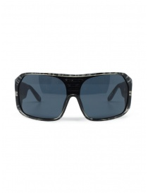 Tsubi black and white spotted sunglasses on discount sales online