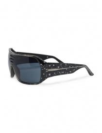 Tsubi occhiali da sole maculati bianchi e neri