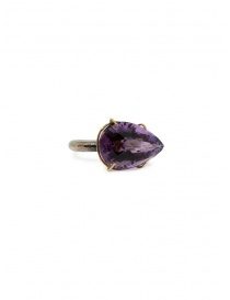 Kioukas silver ring with amethyst price