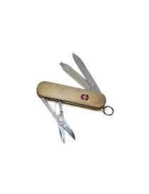 Victorinox Guilloché multipurpose silver knife on discount sales online