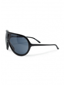 Tsubi Plastic Black teardrop sunglasses