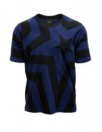 Yoshio Kubo t-shirt con stella nera e blu online