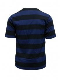 Yoshio Kubo t-shirt con stella nera e blu