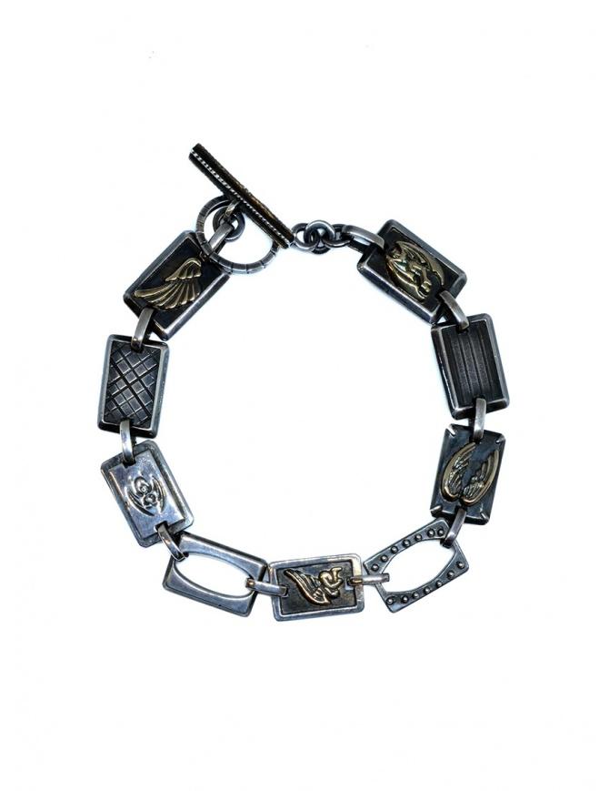 Yohji Yamamoto silver bracelet with angels HY-A16-951 1 jewels online shopping