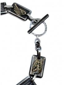 Yohji Yamamoto bracciale in argento con angeli prezzo