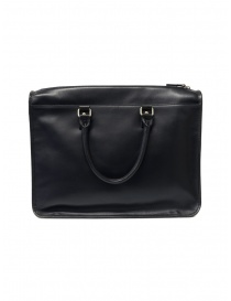 Yohji Yamamoto Costume d'Homme black briefcase on discount sales online