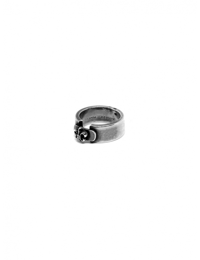 René Talmon l'Armée silver ring with lily RTA 237 jewels online shopping