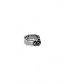 René Talmon l'Armée silver ring with lily price