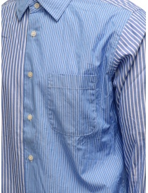 Morikage blue and white striped shirt price