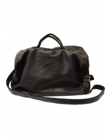 Guidi + Barny Nakhle B2 dark grey color leather duffel bag online