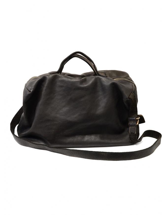 Guidi + Barny Nakhle B2 dark grey color leather duffel bag B2 SOFT HORSE FG BAG CV37T bags online shopping