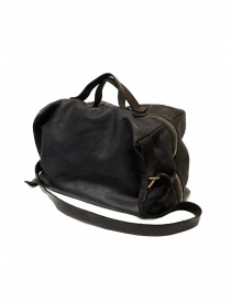 Guidi + Barny Nakhle B2 dark grey color leather duffel bag