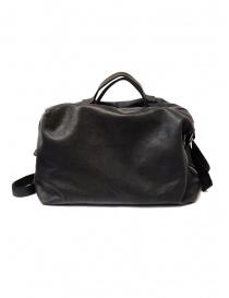 Guidi + Barny Nakhle B2 dark grey color leather duffel bag price