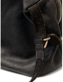 Guidi + Barny Nakhle B2 dark grey color leather duffel bag bags buy online