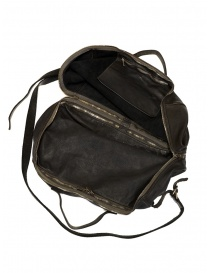 Guidi + Barny Nakhle B2 dark grey color leather duffel bag buy online price
