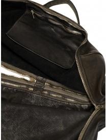 Borsone Guidi + Barny Nakhle B2 in pelle colore grigio scuro acquista online prezzo