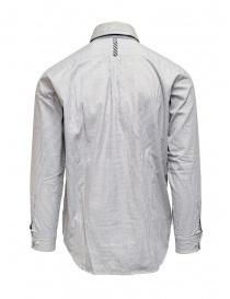 Morikage white and black check shirt price