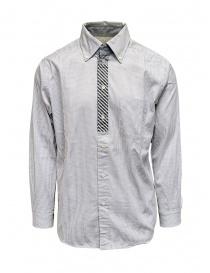Morikage camicia a quadretti bianchi e neri online