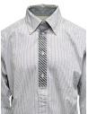 Morikage white and black check shirt shop online mens shirts
