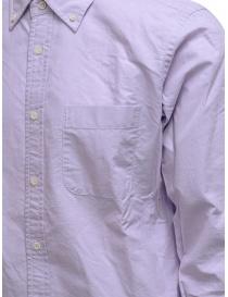 Morikage camicia lilla con retro a quadretti prezzo
