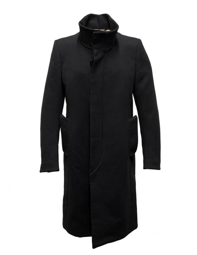 Carol Christian Poell OM/2658B heavy black coat OM/2658B-IN KOAT-BW/101 mens coats online shopping