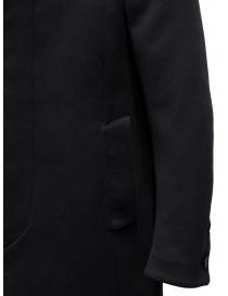 Carol Christian Poell OM/2658B cappotto nero pesante cappotti uomo acquista online
