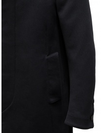 Carol Christian Poell OM/2658B heavy black coat mens coats buy online