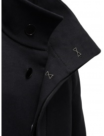 Carol Christian Poell OM/2658B heavy black coat mens coats price