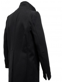 Carol Christian Poell OM/2658B cappotto nero pesante acquista online prezzo