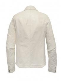 Carol Christian Poell giubbino bianco in pelle giubbini uomo acquista online