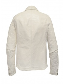 Carol Christian Poell white leather jacket mens jackets buy online