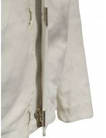 Carol Christian Poell white leather jacket mens jackets price